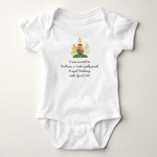 Fun British Royal Wedding souvenir kids outfit Shirt