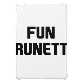 Fun Brunette iPad Mini Cases