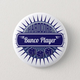 Fun Bunco Party Dice Game Night 6 Cm Round Badge