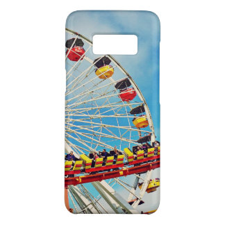 Fun carnival ferris wheel and roller coaster photo Case-Mate samsung galaxy s8 case
