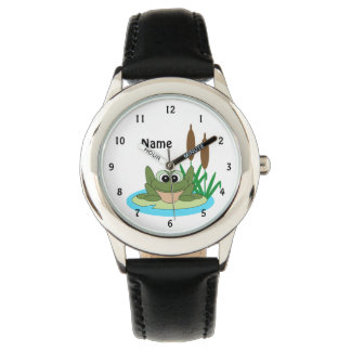 Fun Cartoon Frog Watch