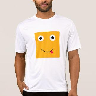 Fun Character Activewear Shirt For Men: Yellow