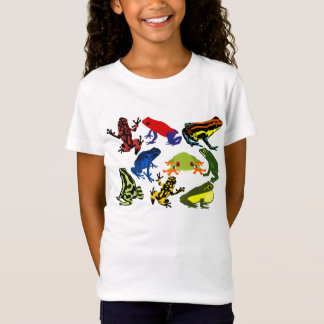 Fun children kids frog amphibians! Dart tree frogs T-Shirt