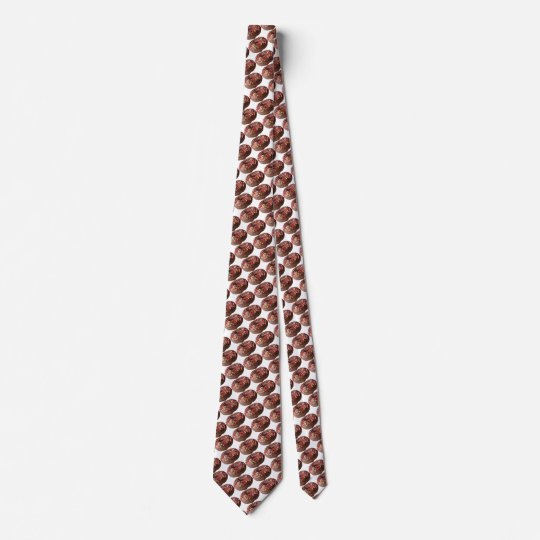 Fun Chocolate Sprinkle Doughnut Tie