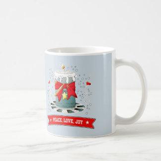 Fun Christmas Candle Design Gift Mugs