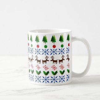 Fun Christmas Decor on Coffee Mug