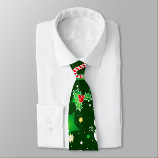 Fun Christmas Holiday pattern tie