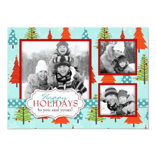 Fun Christmas Photo Card A6 11 Cm X 16 Cm Invitation Card