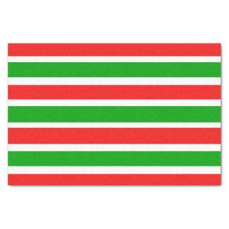 Fun Christmas Stripes Tissue Paper