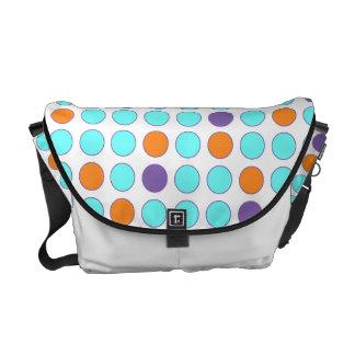 Fun Circles Messenger Bag