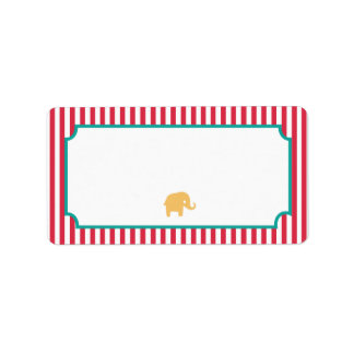 Fun Circus Address Labels