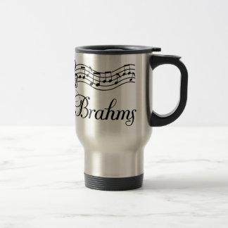 Fun Classical Music Brahms Music Notes Travel Mug