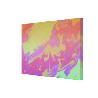 Fun Colorful Artsy Abstract Gallery Wrap Canvas
