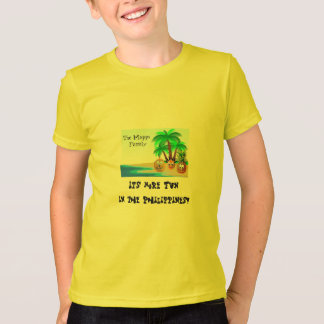 Fun colorful beach - Philippines T-Shirt