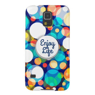Fun Colorful Dots Pattern (Kids, Celebrations) Case For Galaxy S5