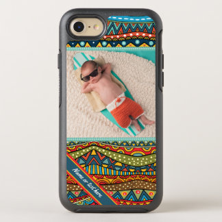 Fun Colorful Geometric Pattern OtterBox Symmetry iPhone 8/7 Case