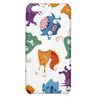 Fun Colorful Monsters Creatures Kids iPhone Cases iPhone 5C Cases