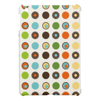 Fun Colorful Retro Boho Abstract Pattern Case For The iPad Mini