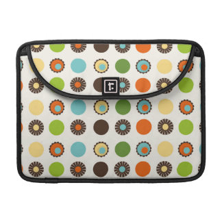 Fun Colorful Retro Boho Abstract Pattern Sleeve For MacBook Pro