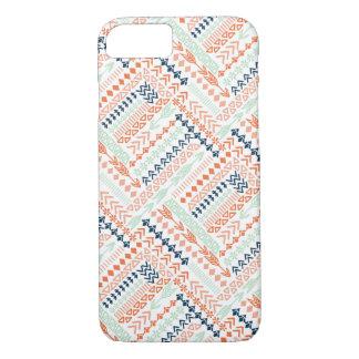 Fun Colorful Tribal Pattern iPhone 7 Case