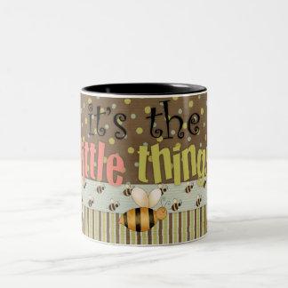 Fun Comic Bumble Bee Little Things Coffee Cup Mugs