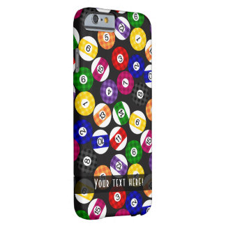 Fun Country Style Checkered Billiards Pattern Barely There iPhone 6 Case
