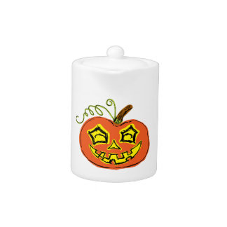 Fun & Creepy Orange Pumpkin