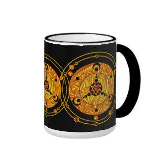 Fun Crop Circle Alien Art SciFi Geek Drinkware Mug