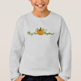 Fun & Cute Play Pumpkin Light Sweatshirt