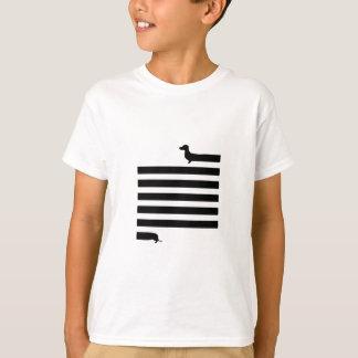 Fun dachshund illustrated t-shirt