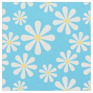 Fun Daisy Pick Any Color Background Fabric