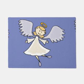 Fun Dancing Angel Cartoon Doormat
