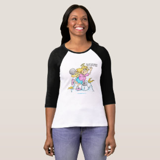 Fun Diet T-Shirt Bowling For Exercise