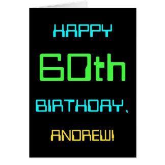 Fun Digital Computing Themed 60th Birthday Card