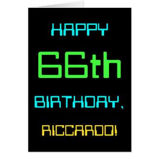 Fun Digital Computing Themed 66th Birthday Card