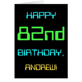 Fun Digital Computing Themed 82nd Birthday Card