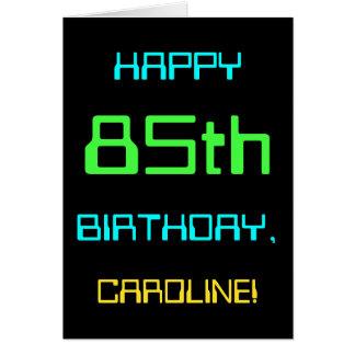 Fun Digital Computing Themed 85th Birthday Card