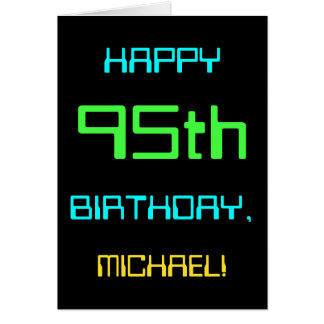 Fun Digital Computing Themed 95th Birthday Card