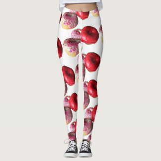 Fun Donuts Yoga Pants Stretch Leggings