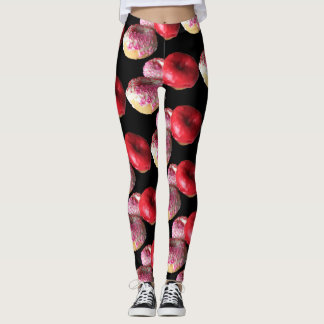 Fun Doughnuts Yoga Pants Stretch Leggings