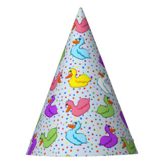 Fun Ducks Party Hats (No Banner)