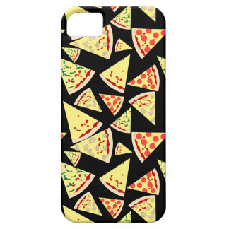 Fun Dynamic Random Pattern Pizza Lover's iPhone 5 Cover
