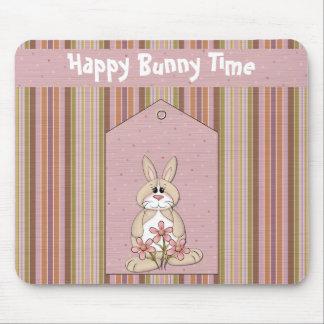 Fun Easter Bunny Time Mousepad