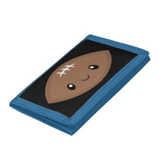 Fun Emoji Football Tri-fold Wallet