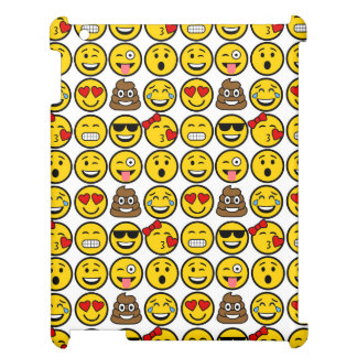 Fun Emoji Pattern Emotion Faces Cover For The iPad 2 3 4
