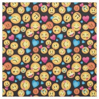 Fun Emoji Print Fabric