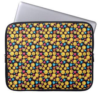 Fun Emoji Print Sleeve