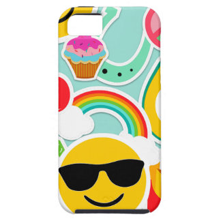 Fun Emoji Sticker Pattern iPhone 5 Covers