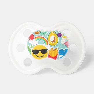 Fun Emoji Sticker Pattwern Dummy