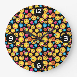 Fun Emoji Wall clock
